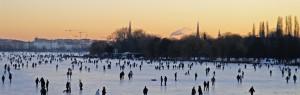 Hamburg Winter 2010 / Aussenalster by Ottmar Heinze