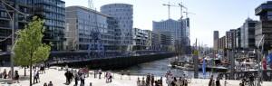 HafenCity / Freizeit Magellan-Terrassen by ELBE&FLUT / Thomas Hampel