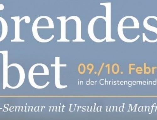 "09./10.02. Seminar ""Hörendes Gebet"""
