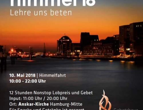 Gebetshauskonferenz Himmel 2018
